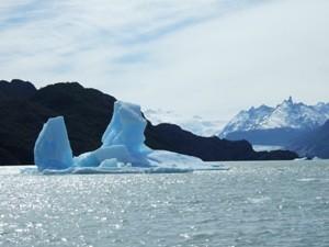 Eisschollen in Patagonien