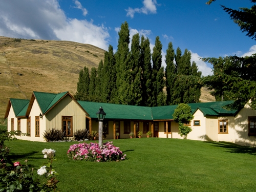 Weitläufige Anlage der Estancia in Patagonien