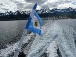 Bootsfahrt durch Beagle Kanal