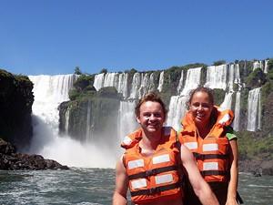 Den Iguazú Wasserfällen ganz nah