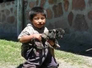 Kleiner Junge in Purmamarca