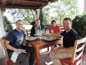 Weinprobe in Mendoza