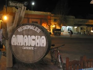 Weinfass in Cafayate