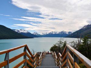 Plattformen Perito Moreno