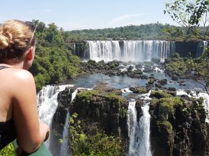 Brasilianische Seite der Wasserfälle