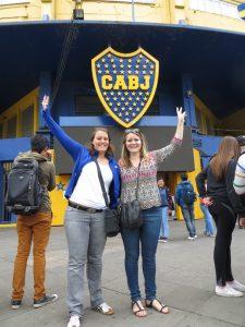Fußballstadion Buenos Aires