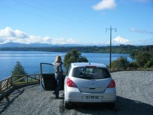Trekking Chile Seengebiet Mietwagen