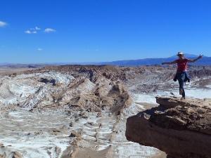 Atacama Wüste Tour Tal des Mondes Chile