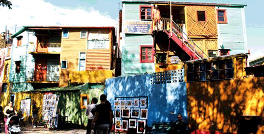 El Caminito in La Boca