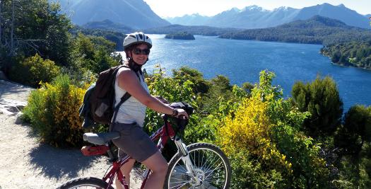 Fahrradtour in Bariloche