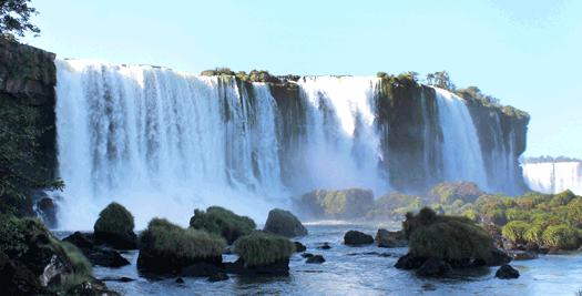 Wasserfälle von Iguazú
