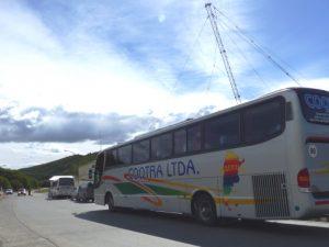 Busfahrt in Argentinien
