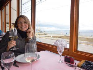 Essen im Restaurant in Ushuaia