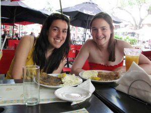 Schnitzel essen in Mendoza
