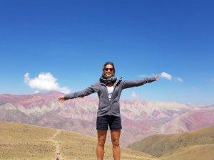 Bunte Berge in der Quebrada