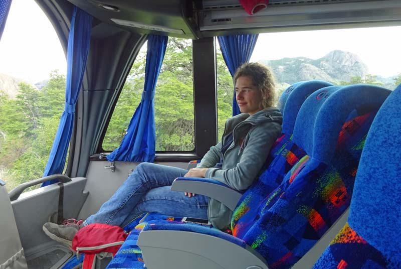 Komfortabler Bus in Argentinien