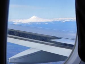 Chile Rundreise 2 Wochen - Ausblick vom Flugzeug