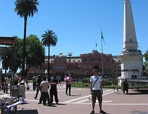 Rundreise Chile Argentinien - Casa Rosada