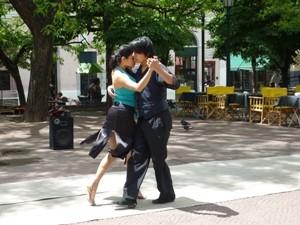 Patagonien Rundreise - Tango tanzen in San Telmo