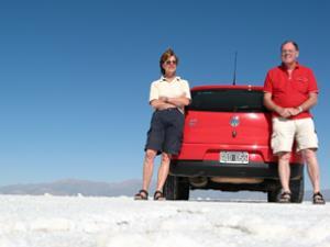 Rundreise Chile Argentinien - Auf den Salinas Grandes