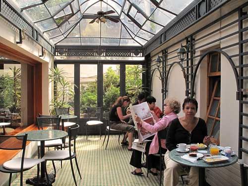 Restaurant des Komforthotels in Santiago