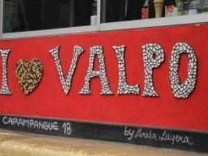 Chile - Straßenkunst in Valparaíso
