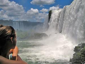 Rundreise Chile Argentinien - Beeindruckende Wassermassen