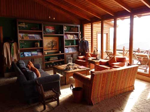 Aufenthaltsraum Komfortunterkunft El Calafate