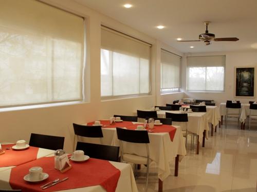 Frühstücksraum Cityhotel Mendoza