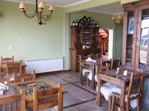 Frühstücksraum Komforthotel Ushuaia