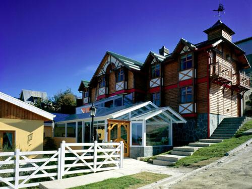 Stadthotel Ushuaia Außenansicht