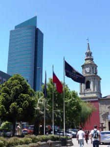 Treffen mit Partner in Santiago