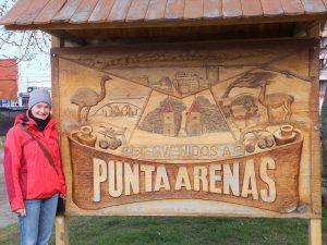 Punta Arenas in Patagonien