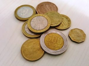 Chilenische Peso Münzen