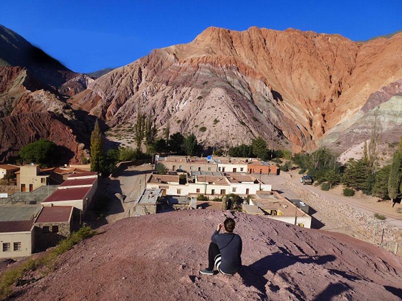 Purmamarca - Berg der sieben Farben