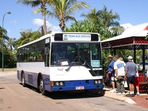 Busfahrt in Broome