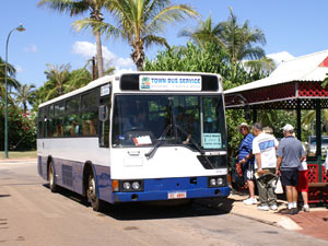 Bus in Cairns
