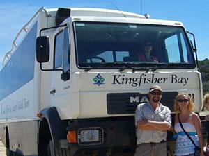 Truck auf Fraser Island