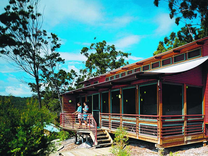 Lodge auf Fraser Island