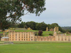 Gefängnisruinen in Port Arthur
