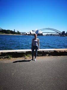 Ausblick auf Sydney Harbour