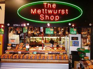 Adelaide Market mit Mettwust Shop