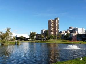 Die Skyline von Adelaide