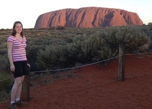 Der Ayers Rock auch Uluru genannt
