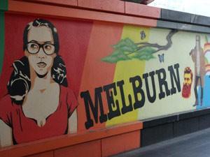 Coole Szene in Melbourne