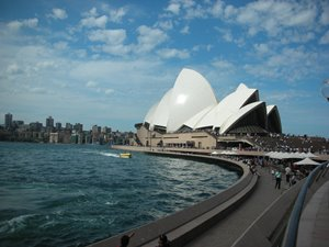 Das Opera House in Sydney