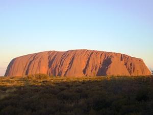 Uluru - der Fels der Aborigines