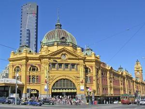Der Bahnhof von Melbourne