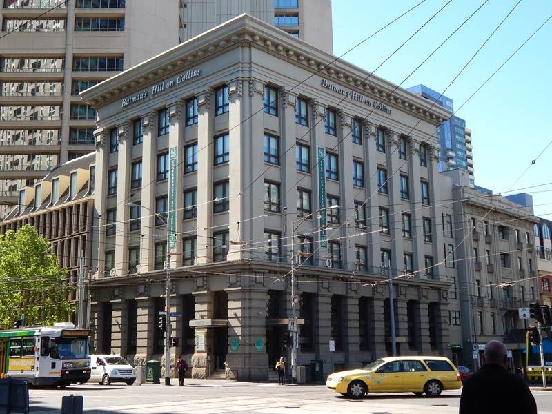 Hotelgebäude in Melbourne