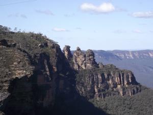 Die Three Sisters sind das Wahrzeichen des Nationalparks